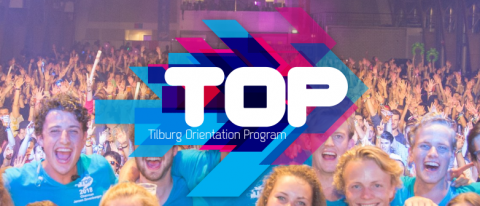 Logo Tilburg Orientation Program (TOP)