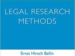 cover advanced introduction to legal research methods