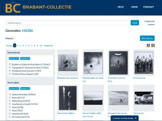 Screenshot Brabant Collectie