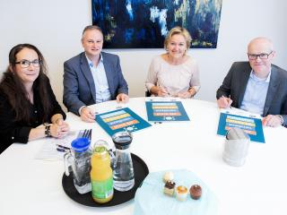 ondertekening project Smart Start