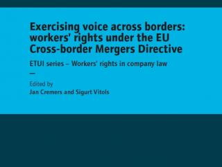 Book Exercising voice across borders