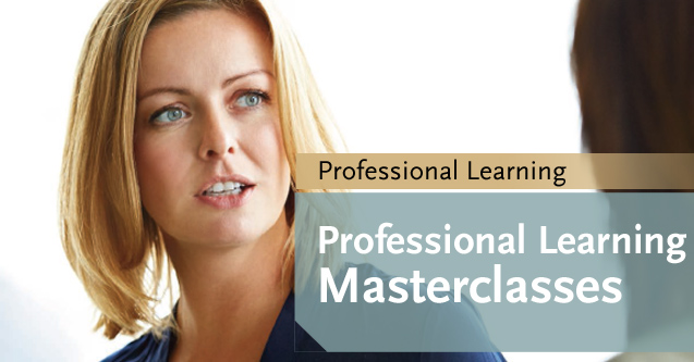 Postgraduate banner Professional Learning Masterclasses