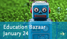 Visit the Education Bazaar 2019