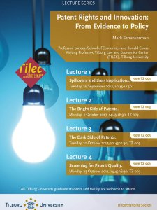 Lecture Series: Patent Rights and Innovation: From Evidence to Policy