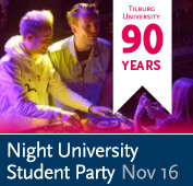 Banner lustrum night university student party