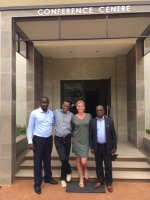 Reparations project Intervict Letschert in Uganda