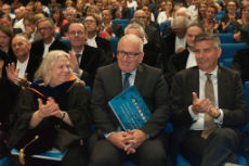 Frans Timmermans at Tilburg University