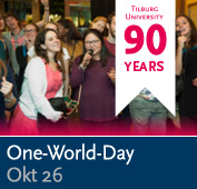 Banner lustrum one world day