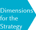 Dimensions for the strategy