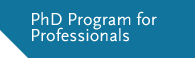 PhD Program for Professionals CentER